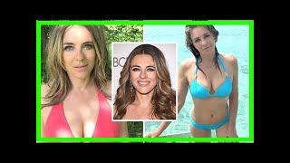 Liz Hurley Instagram: Actress, 53, flaunts eye-popping assets in racy CLOSE-UP bikini snap