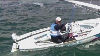 Ainslie (GBR) Wins Men's Sailing Finn Gold - London 2012 Olympics