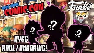 NYCC 2018 FUNKO Pop Haul / Unboxing (Convention Exclusives)