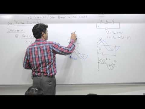 Class 10+2, Chapter 4B, Question 14, Power in AC circuit