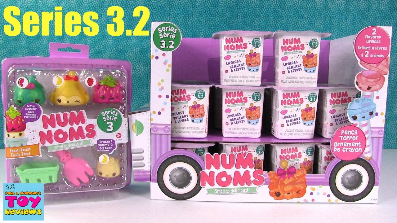 Num Noms Series 3 2 New Fresh Fruits Playset 2 Pack