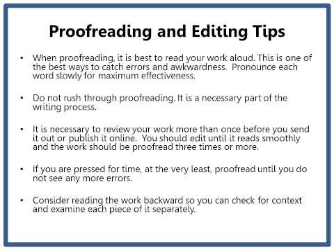 Grammar Chic, Inc. Proofreading and Editing Tips for Writers