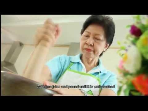 Healthy Thai Menu Low Salt Low Fat เมนูสุขภาพ ลดเค็ม ลดมัน (Full Version 38 mins)