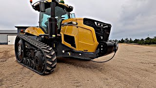 Brand New CAT Tractor Shows Up On The Yard