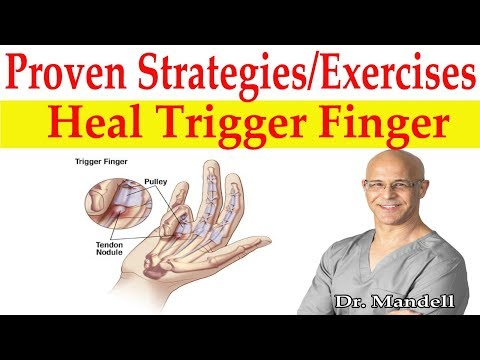Most Effective Proven Strategies, Exercises, Treatment to Heal Trigger Finger - Dr Mandell, DC