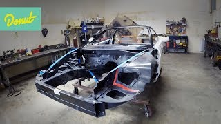 Drift Corvette Build - EP2: Building a Roll Cage | Donut Media thumbnail