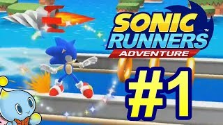 NEW GAMELOFT GAME?! - Sonic Runners Adventure #1 [First Look - Android]