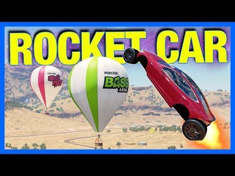 Forza Horizon 3 : FALCON HEAVY!! **rocket car build** (Let's Fail)