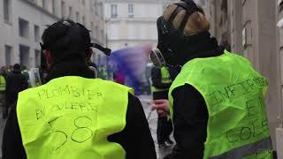 Brèves de manif : Gilets jaunes - Acte IV, Paris