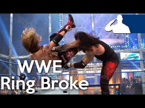 Thumbnail: 5 Times The WWE Ring Broke