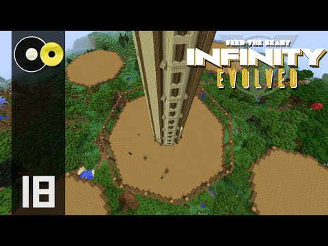 Minecraft Hypermine FTB: Infinity Evolved  | Enhanced Building Guide | E18