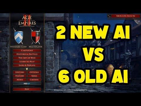 2 New AI vs 6 Old AI