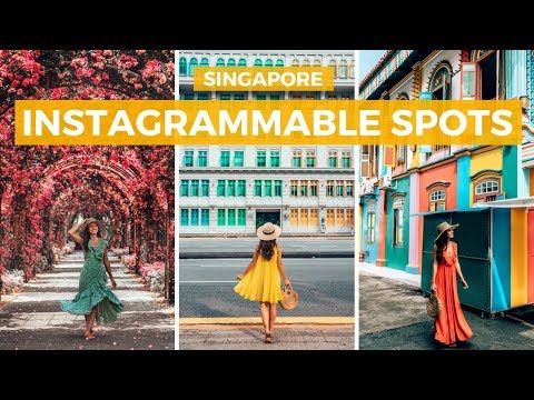 INSTAGRAMMABLE SPOTS IN SINGAPORE