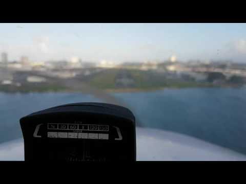 Landing TJIG/SIG Isla Grande Airport RWY9 (San Juan, Puerto Rico)