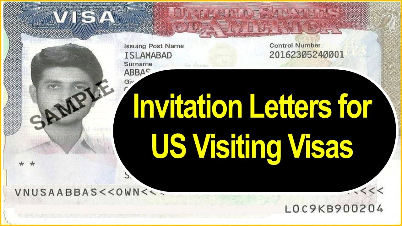 Invitation Letters For Usa Visiting Visas Youtube