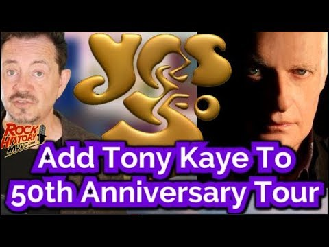 Original Yes Keyboardist Tony Kaye To Join 50th Anniversary Tour