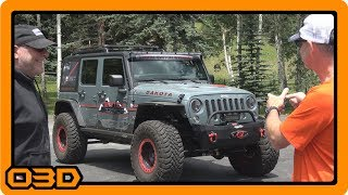 500 HP HEMI JK Walkaround and Test Drive -Team Tech Offroad and S-Tech Switch Systems Shop Visit