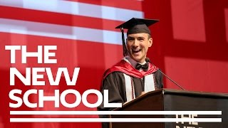 Colin Bedell | Student Commencement Speaker 2016 | The New School