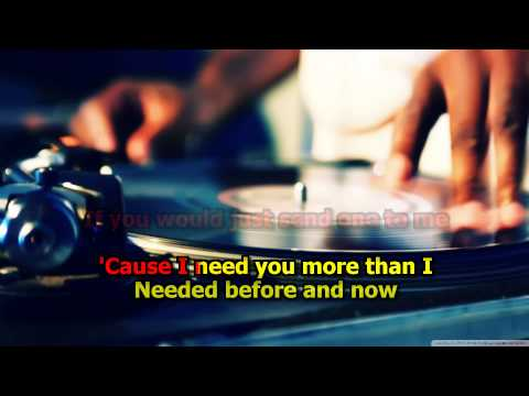 Just When I Needed You Most - Randy Vanwarmer (Karaoke) HD