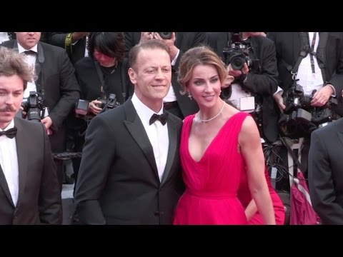 Rocco Siffredi and Rosa Tassi at Martinez Hotel in Cannes