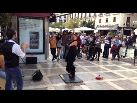 Flamenco en Plaza Nueva Granada