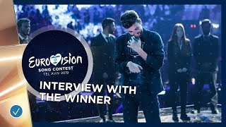 Interview with the winner of the 2019 Eurovision Song Contesst