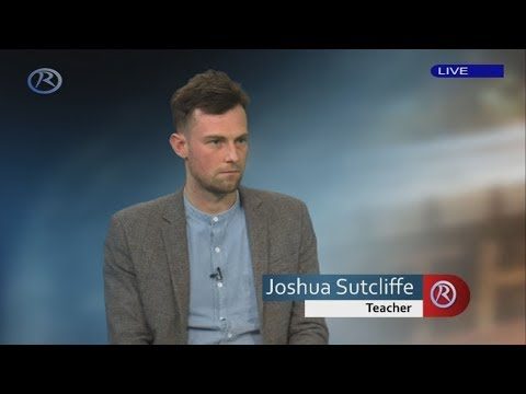 Maths teacher Joshua Sutcliffe who 'misgendered' pupil shares his story with Revelation TV