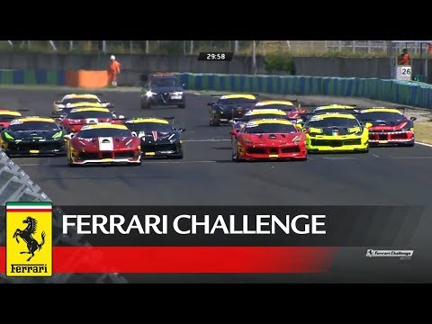 Ferrari Challenge Europe - Budapest 2017, Coppa Shell Race 2