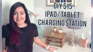 DIY $15 iPad/tablet charging station