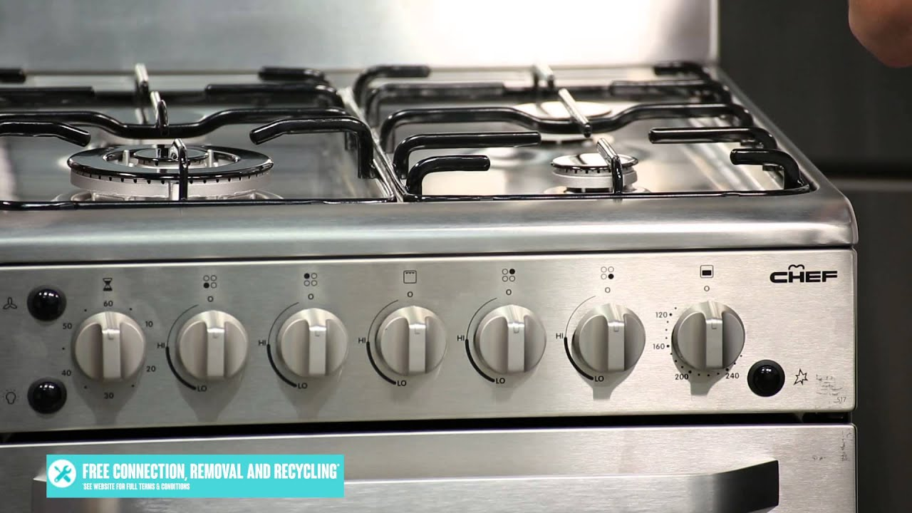 Gas Kitchen Appliances Freestanding Chef Gas Oven Stove Cfg517sa Reviewed By Product