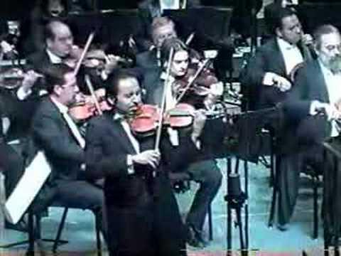 Erasmo Capilla - Tchaikovsky Violin Concerto 1st mov. part 1