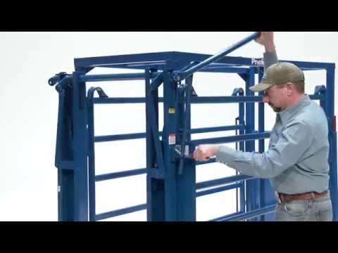 Q Catch 8500 Manual Cattle Squeeze Chute Arrowquip