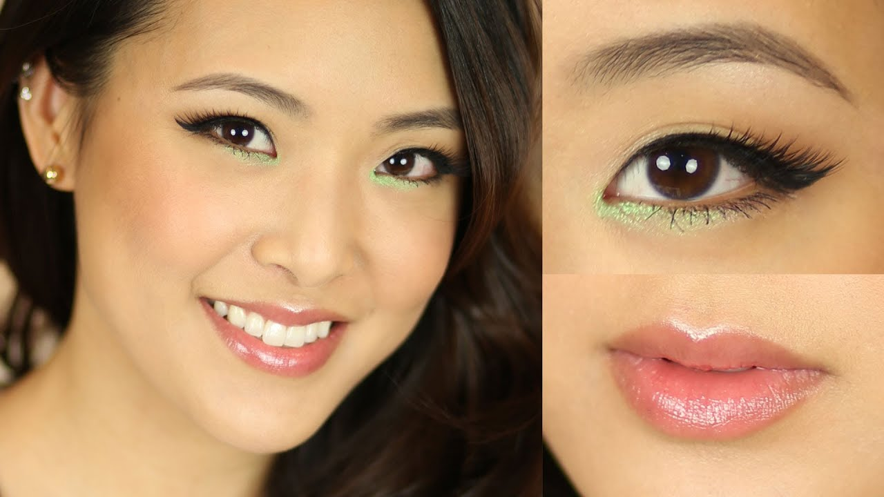 Asian Fresh Cat Eye Makeup