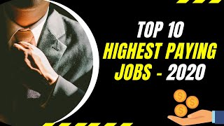 TOP 10 HIGHEST PAYING JOBS IN INDIA 2020   HIGHEST PAID JOBS 2020   ROOTS ACADEMY   9866915814