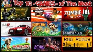 #202 GAMES - Top 10 Free Games of The Week - Bad Cops Racing