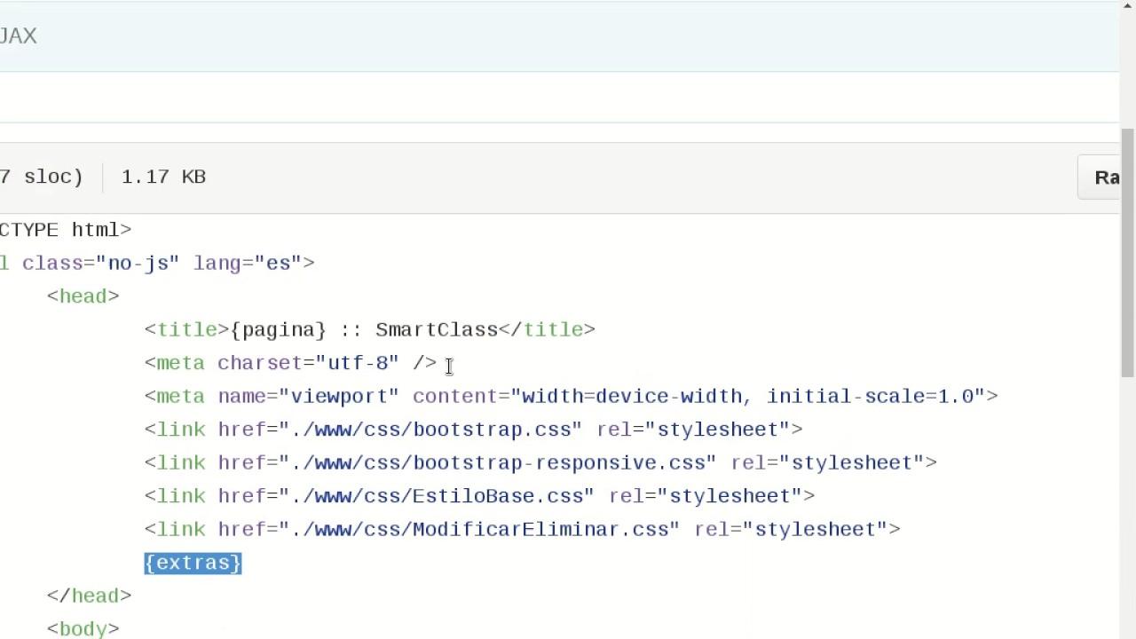 Crear un procesador de plantillas con PHP (parte 1) - YouTube