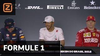 Formule 1 GP Brazilië: Persconferentie