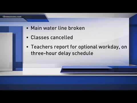 Currituck County Middle School Closed on Tuesday