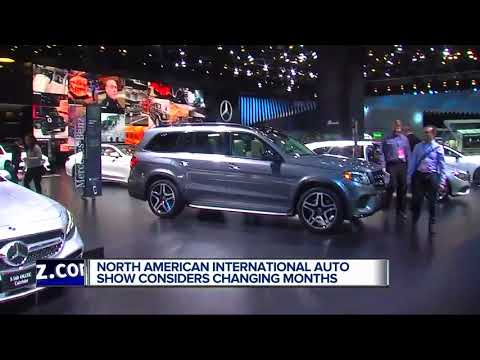 North American International Auto Show May Be Moved Out Of January