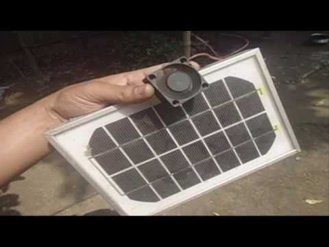 Direct Solar FAN Without Battery!!!