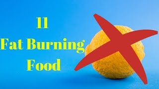 11 Fat Burning Food | Weight Loss | Diet Food