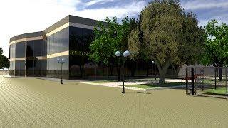 Спорткомплекс в 3D (хоккей, футбол, мини футбол, волейбол, теннис, баскетбол ). Северодонецк