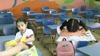 انواع الطلاب بالمدرسة | سوار نامت في الصف !!
