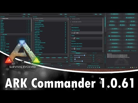ARK: Survival Evolved | How to use ARK Commander