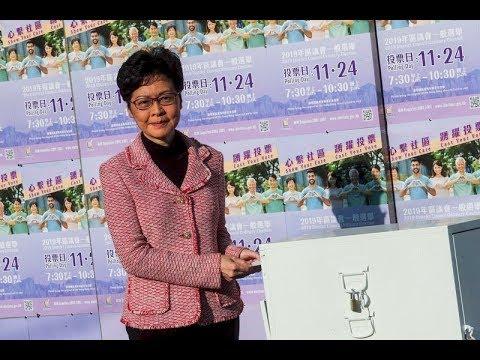 《石涛.News》「香港区议会选举 实则全港公投」294万人 71.2%投票率 泛民派获85%席位 全和平理性[习近平-林郑战略性失败—错判而不敢取消选举 ]