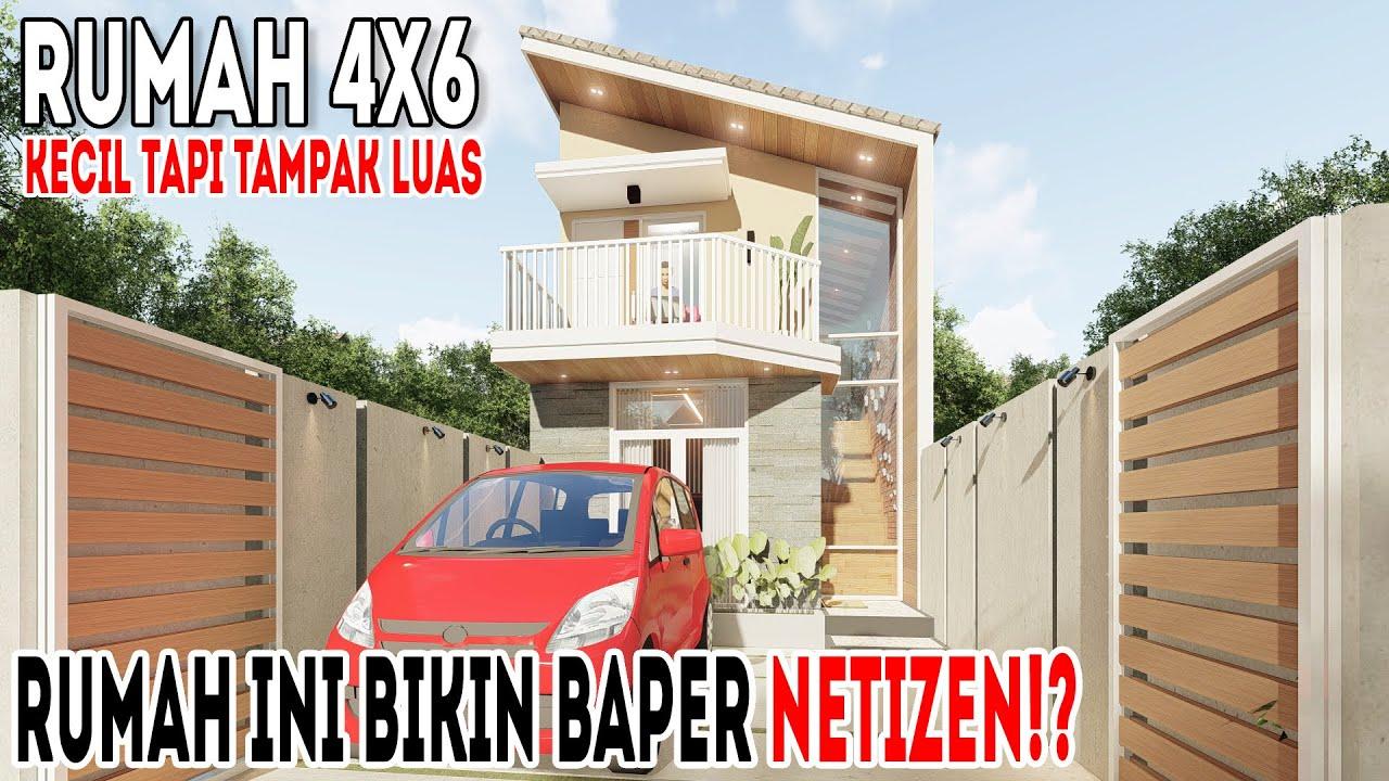 Desain rumah yang bikin netizen baper⁉️
