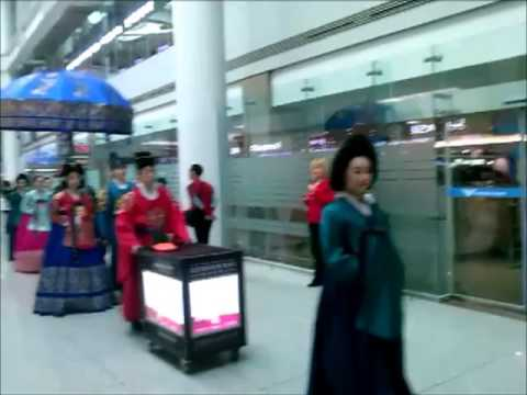 South Korea: Royal Family Reenactment, Inchon Airport
