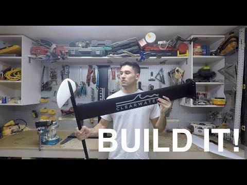 BUILDING a Hydrofoil. SUPER EASY! Part 1