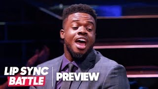 "Kevin Olusola of Pentatonix Serenades Chrissy Teigen w/ ""Love Me Now"" 