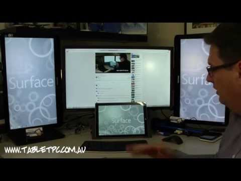 Surface Pro 3 Tips - Working in the Office with 4 Screens, 4K Display,  Docking Station